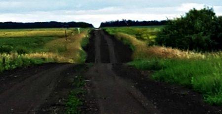 Black Velvet- soul Landscape- dirt road