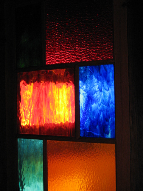 5 panes of Must-Have coloured glass to adjust your view